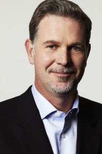 Netflix co-founder and CEO, Reed Hastings