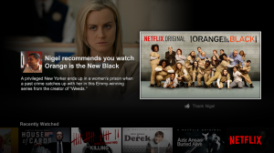 netflix android recommendation