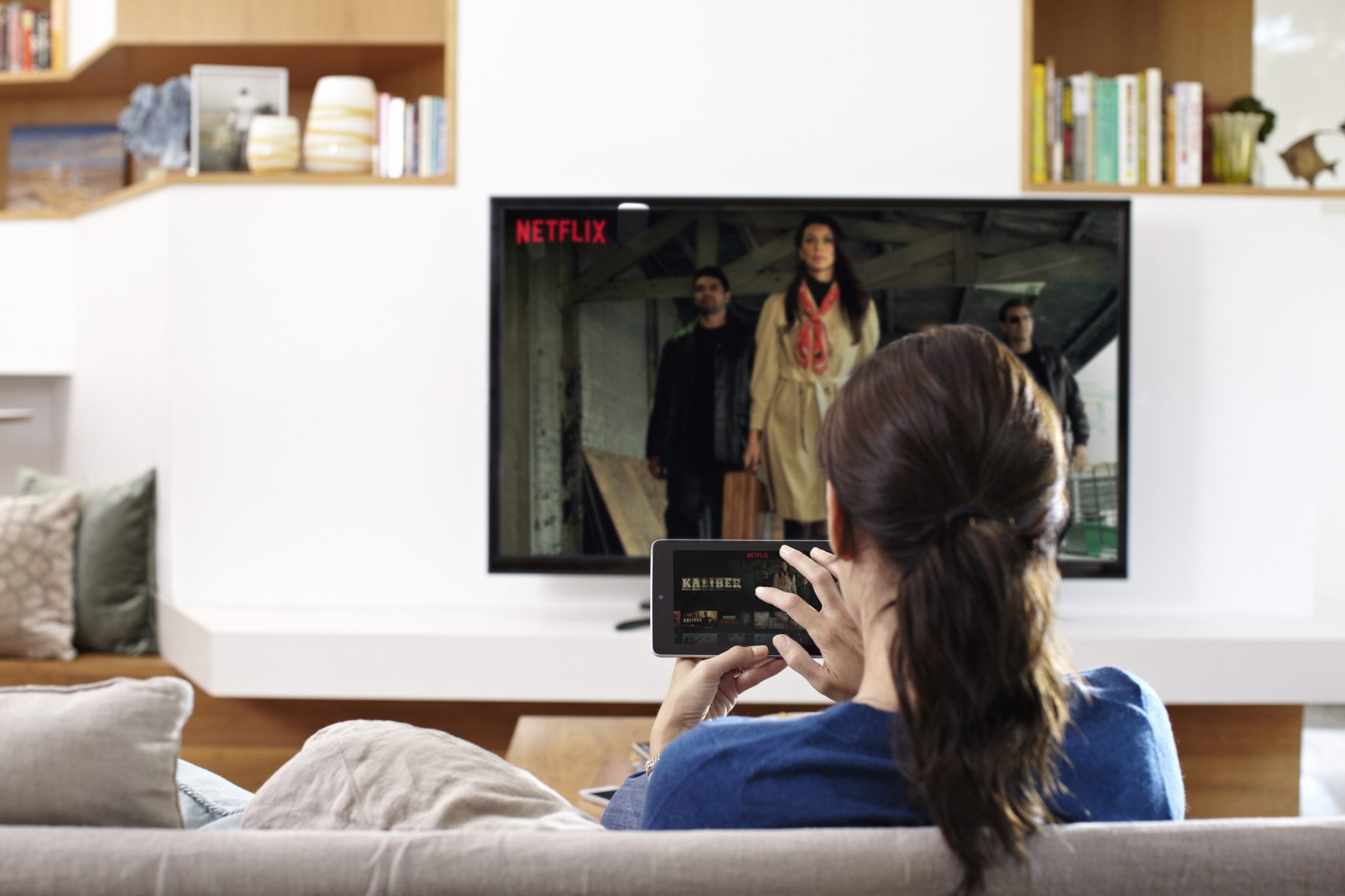 Number of Netflix Subscriptions in US Now Same as Cable
