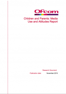 Ofcom children and parents report