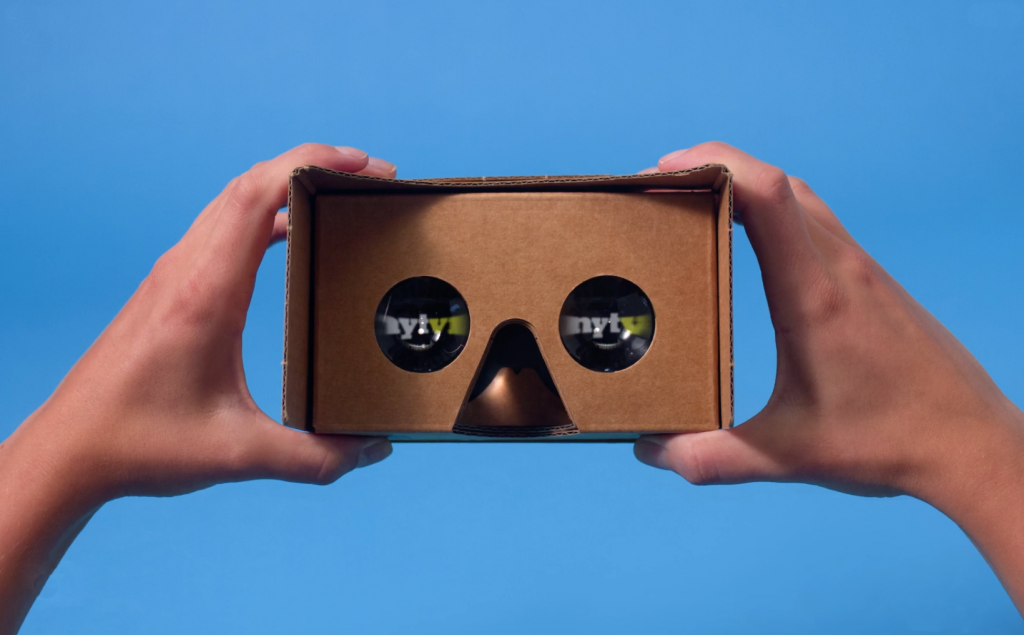 The NYT VR campaign recently won a Mobile Lions award