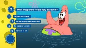 questions example nickelodeon app spongebob