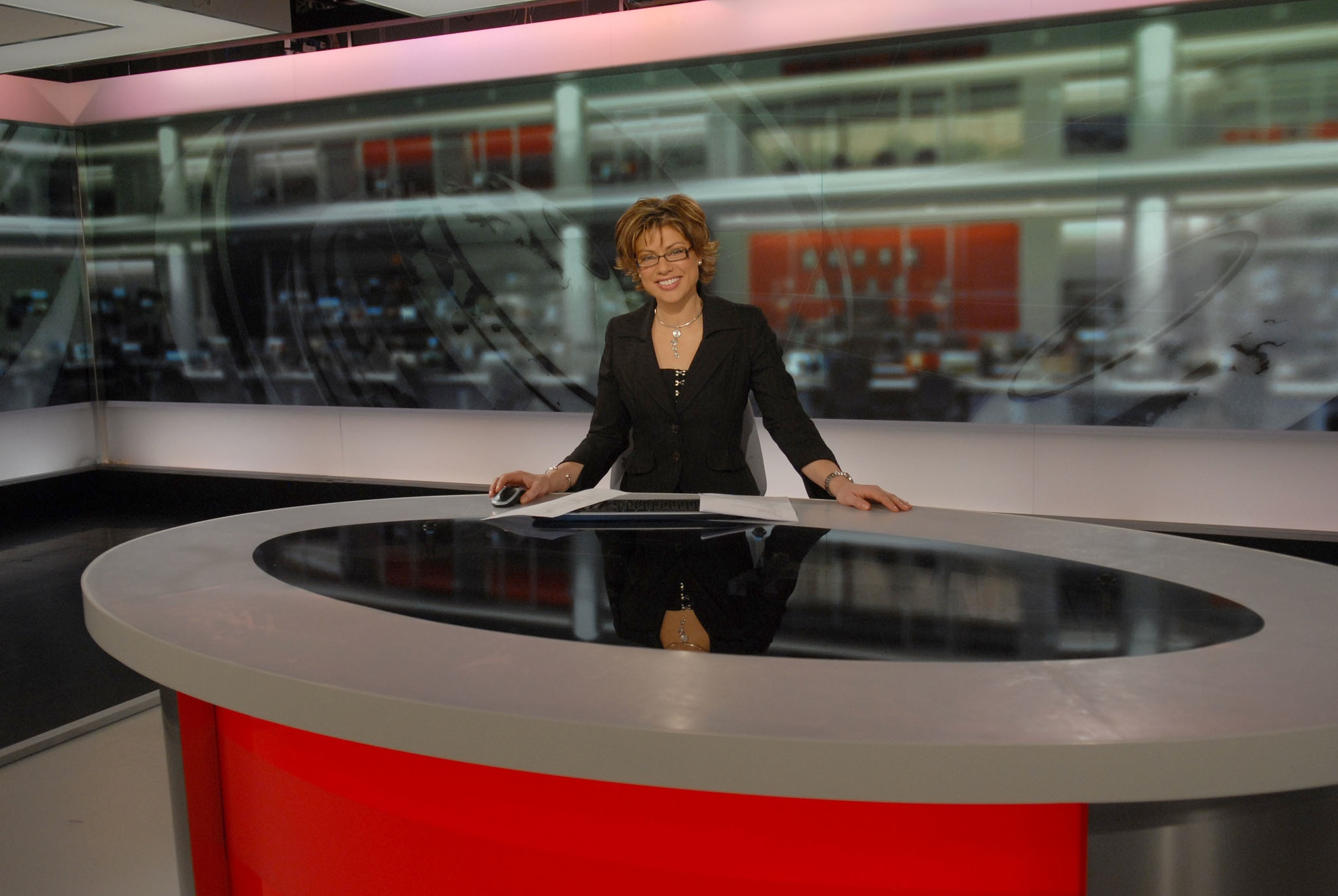 BBC News Photo: Patten Defends BBC News Output