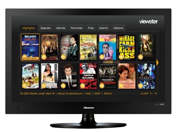 viewster expands vod platform with connected tv deal digital tv europe. Black Bedroom Furniture Sets. Home Design Ideas