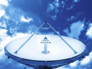 SES astra uplink antenna