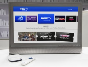 Sky's Roku-powered Now TV box