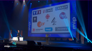 Facebook's Dan Rose speaking at MIPCOM