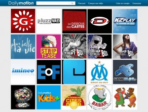 DailyMotion - mock up subscriptions V3