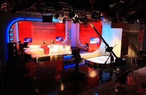 UTV Ireland studio