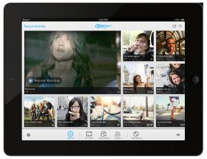 RealPlayer Cloud RPC-iPad-screen-Recent(landscape)