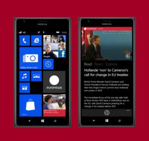 euronews windows phone