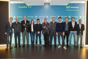 Telefonica's Movistar FusionTV launch