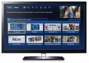 Sky new TV guide