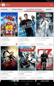 Google Play Movies Poland