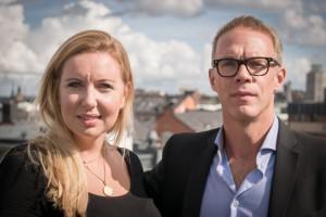 MTGx's Lina Brounéus and Fredrik Ljungberg