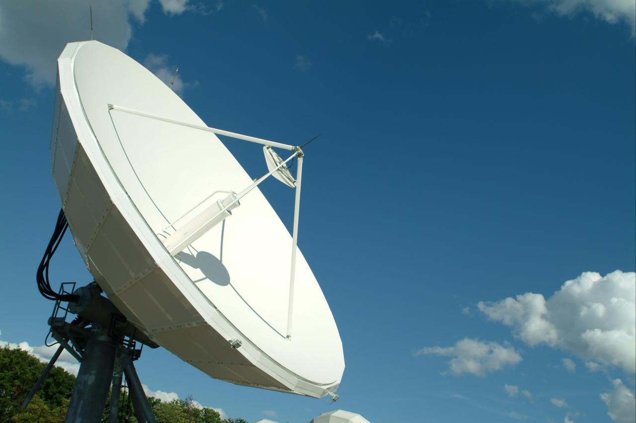 SES uplink antenna