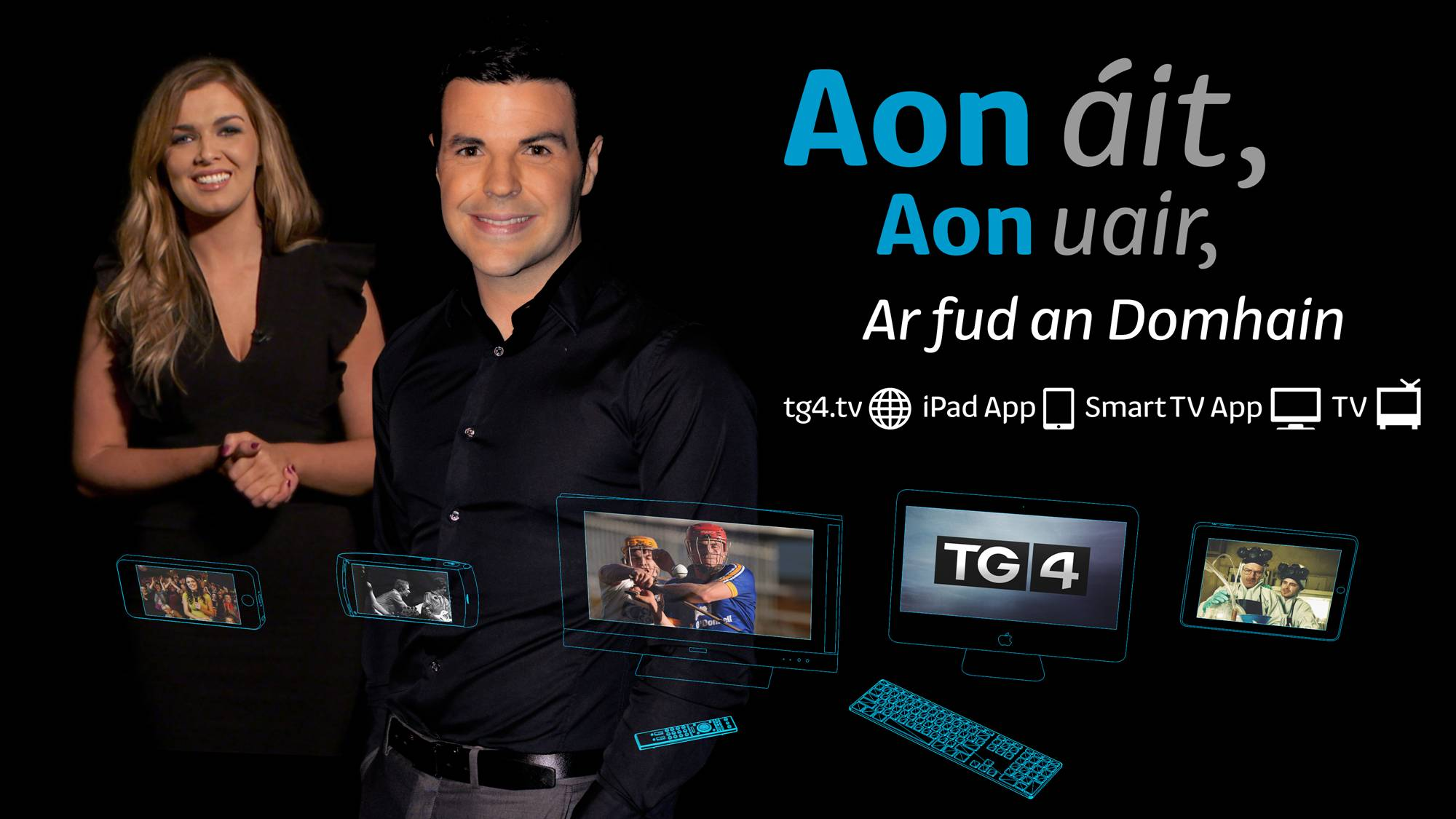 TG4 launches on smart TV, updates player and iPad app