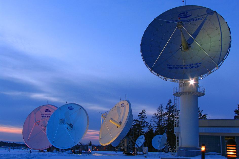 RSCC's Zheleznogorsk satellite control facility