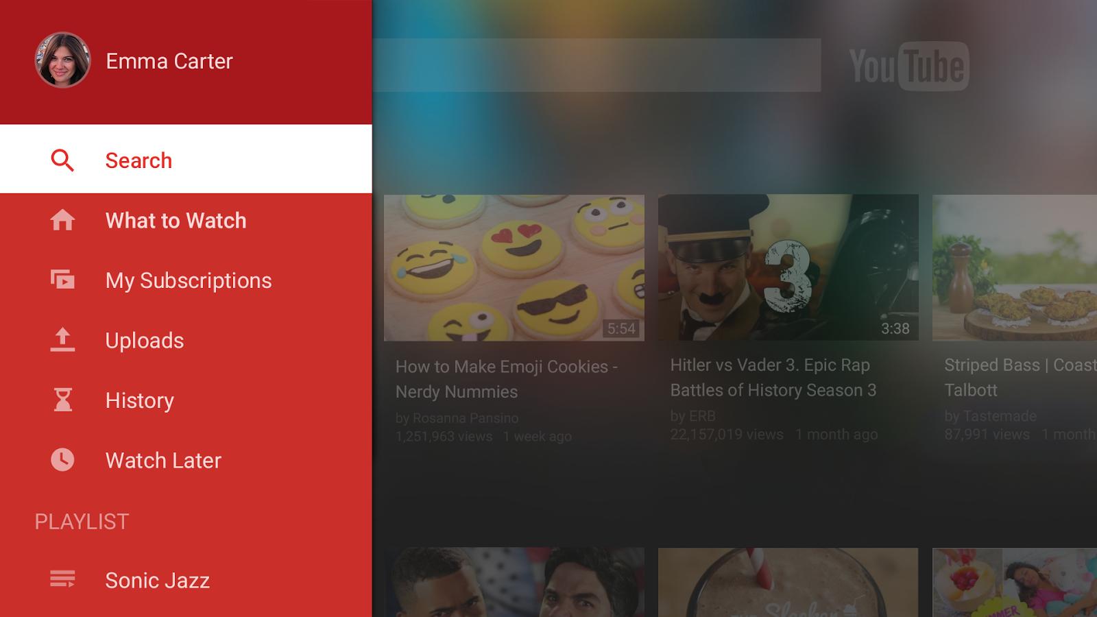 youtube and vimeo revamp tv apps digital tv europe