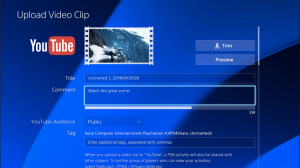 PS4 YouTube app