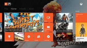 Xbox One screen
