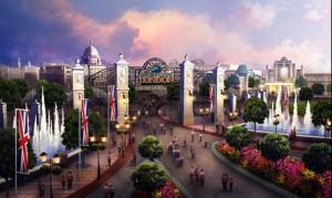 London Paramount Entertainment Resort - entrygate