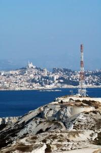 Transmission services provider TDF's Marseille-Pomegues DTT transmitter