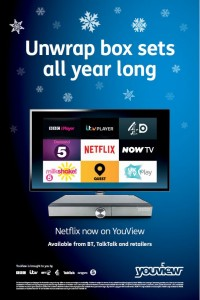 Outdoor creative - 6 sheet youview