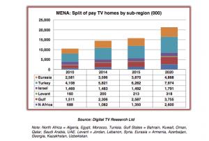 MENA Digital TV Research
