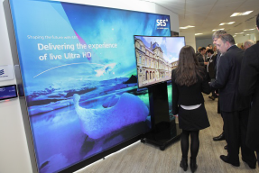 SES UHD ultra HD 4K conference