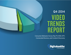 Digitalsmiths Video Trends Report Q4 2014