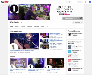 Radio 1 YouTube