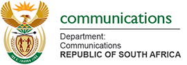 South Africa Communications Department logo