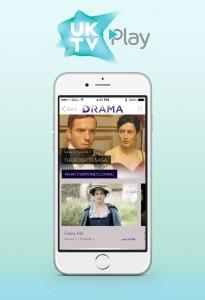 phone image - Drama on UKTV Play