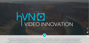 Harmonic HNV video innovation