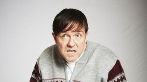 Ricky Gervais as Derek, in the same-titled Channel 4 comedy series.