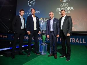 BT Sport's Champions League presenter team