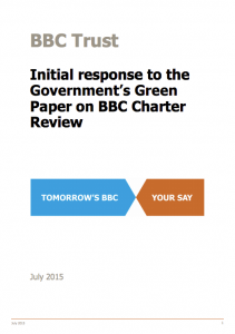 BBC Trust response