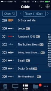 TiVo's iOS app