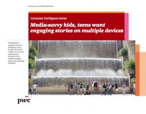 PWC media savvy kids