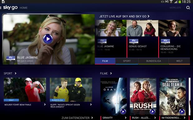 Sky Go users gain download options in Germany – Digital TV