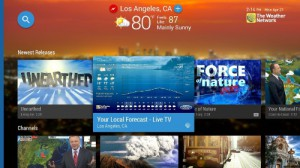 The Weather Network Android TV App channel