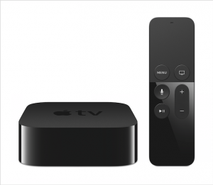 The new Apple TV box