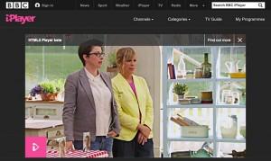BBC iPlayer HTML5