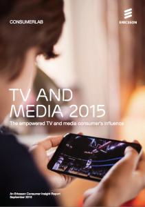 Ericsson TV and Media 2015