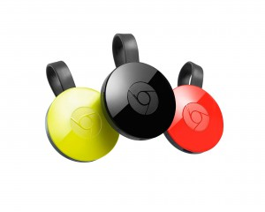 Google's current generation of Chromecast