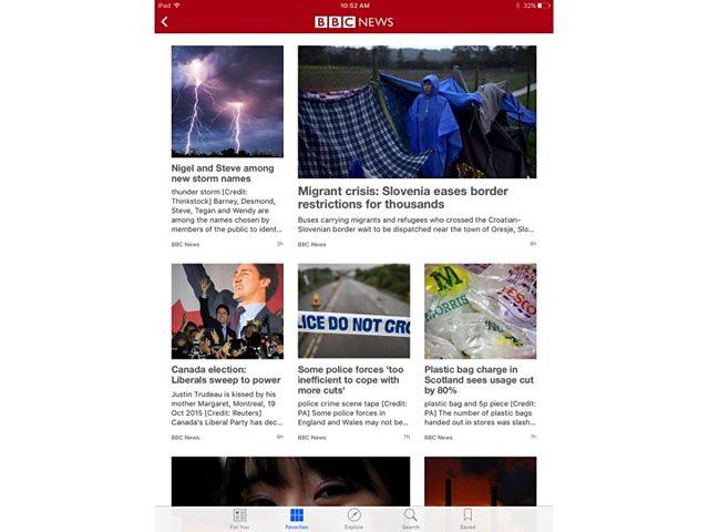 BBC news apple news