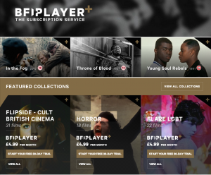 BFI Player Plus screenshot