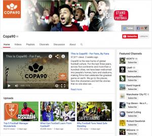 Copa90 screenshot