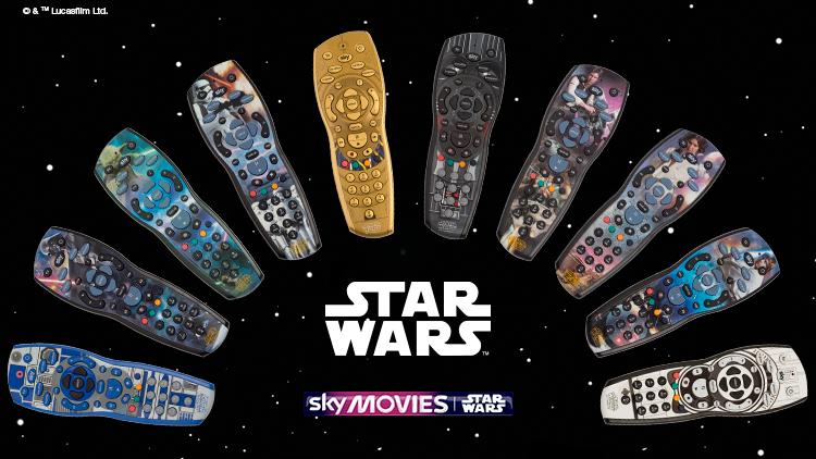 Star Wars remote Sky